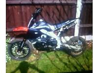 125cc pitbike SWAP FOR PED OR CASH £300 ONO