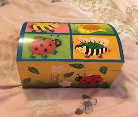 Handmade & Hand painted Treasure Box