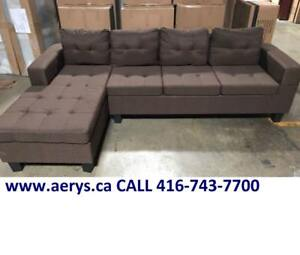 SECTIONAL SOFA ON HUGE SALE FOR $295 ONLY!!!!! CALL 416-743-7700