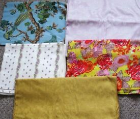 Unused Fabric/material and Lace curtaining. Offers.