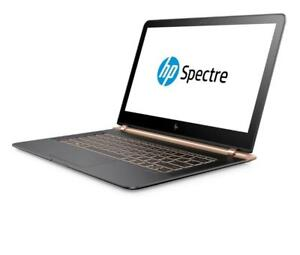 "HP SPECTRE 13-V118CA, 13.3"", INTEL CORE I7-7500U @2.7GHZ, 8GB RAM, 256GB SSD, WINDOWS 10 HOME - Dark Grey"
