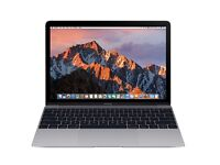 "12"" Apple MacBook Space Grey 2016 M3 1.1Ghz"