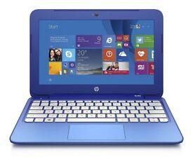 BLUE HP STREAM/ INTEL DUAL CORE 2.16 GHz/ 2 GB Ram/ 32 GB eMMC/ HDMI/ WEBCAM/ USB 3.0/ WIN 10