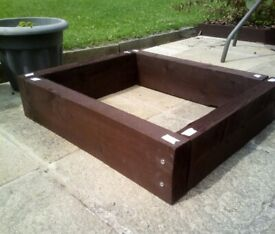 1 x ( 24 x 21 inches ) RAISED BED FRAME for £ 15 - nice bargain.
