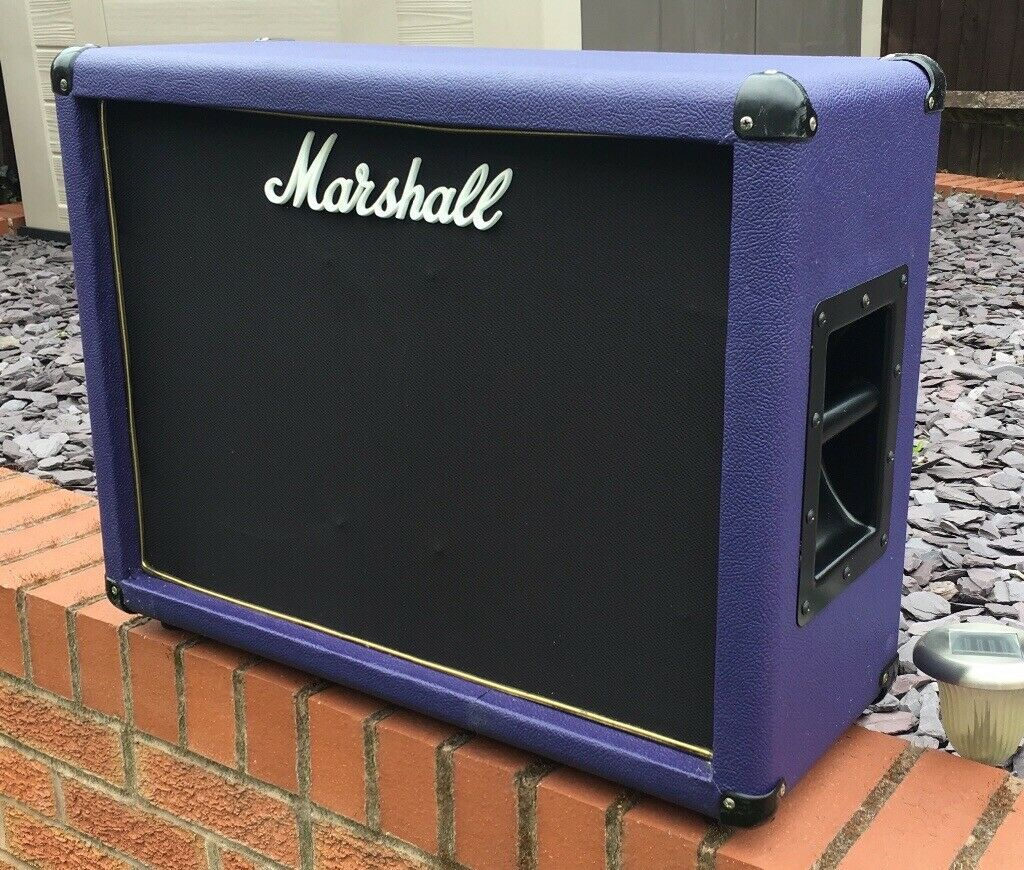 "Marshall 1922 Speaker Cabinet 2x12"" 150 Watts Recovered in Purple Levant  Tolex | in Tamworth, Staffordshire | Gumtree"