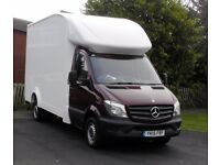 Man and van with a team. Leeds, UK, Europe. Removals, clearances. Free 1 week storage