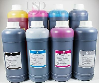 8x500ml Refill Ink For Hp Photosmart B8800 Photosmart Pro...