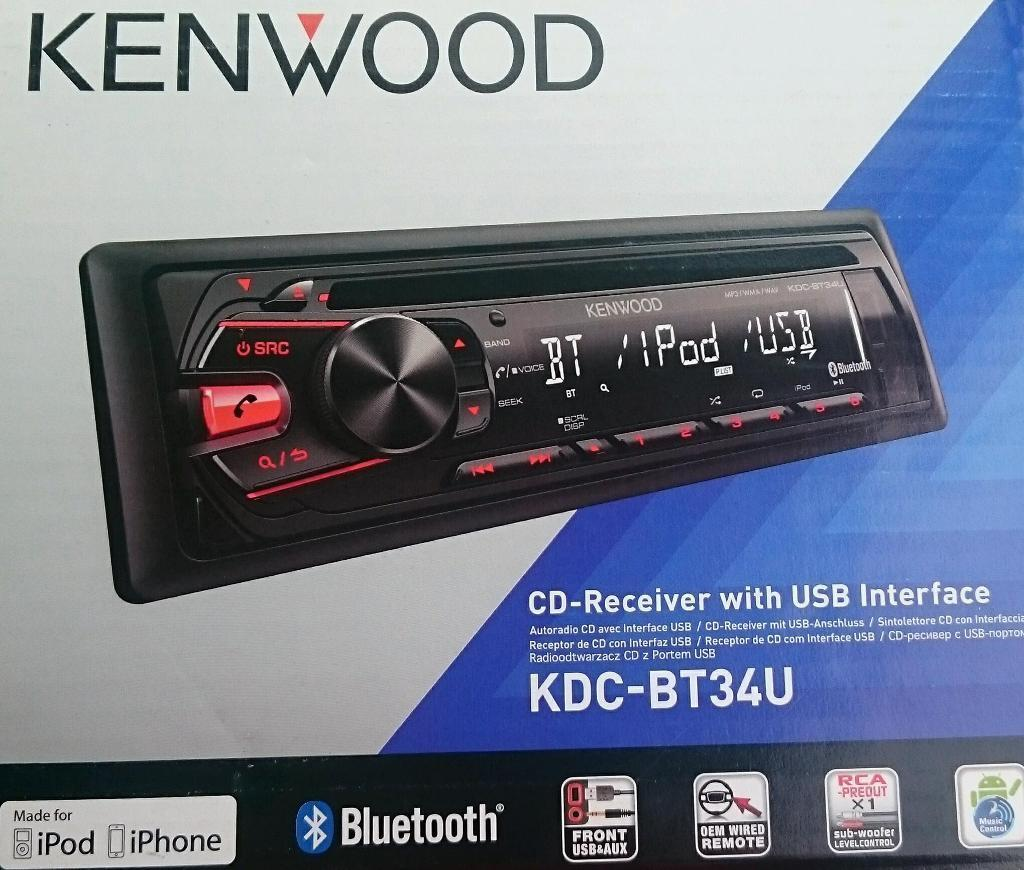 Car stereo Kenwood KDC-BT34U | in Warrington, Cheshire | Gumtree