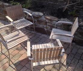 HIGH QUALITY SOLID TEAK CHAIRS