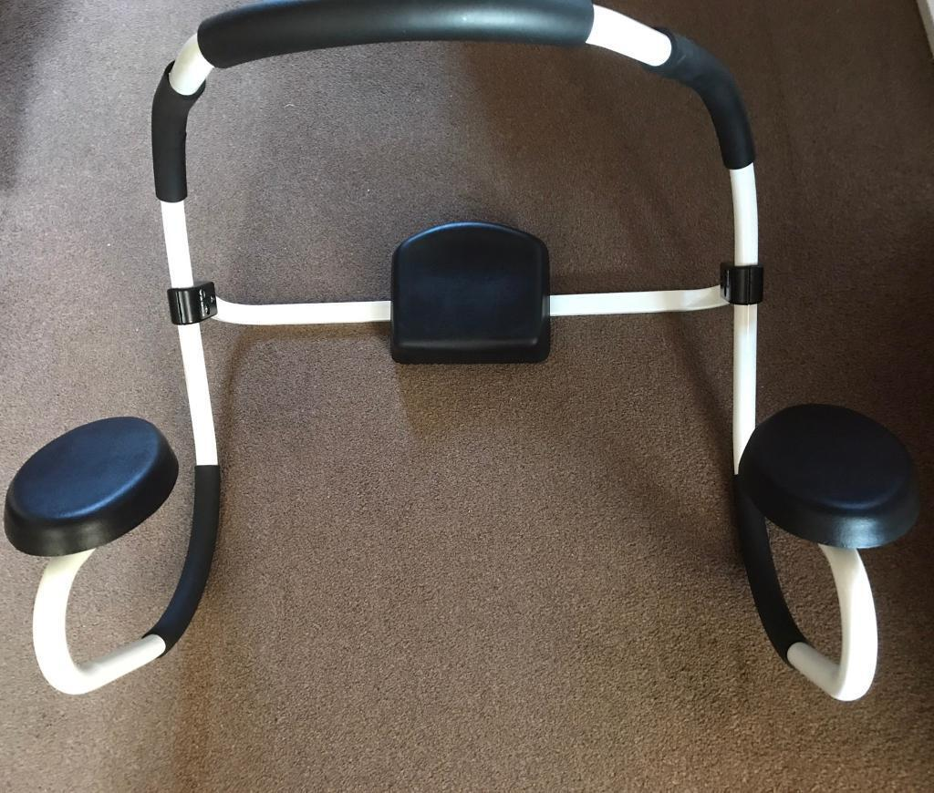 Ab trainerin Tullibody, ClackmannanshireGumtree - Ab trainer/rocker. Forza fitness make. Padded head rest and padded elbow rests. Used once so in excellent condition