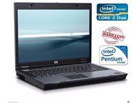 FAST CHEAP HP DUAL CORE 4 GB RAM LAPTOP DVD WINDOWS 7 OFFICE WARRANTY