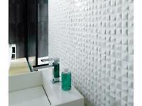 Velas blanco tiles