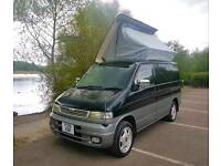 MAZDA BONGO 4 BERTH CAMPERVAN! MUSHROOM ROOF WITH FULL JAL SPACESHIP SIDE CONVERSION! LOW MILES!