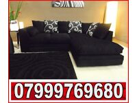 NEW LEFT OR RIGHT CORNER SOFA AS in pic 675