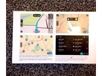 Tomtom start 50 with UK, ROI & European maps.