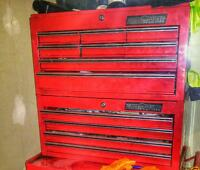 Tool box full of tools for a mechanic or apprentice
