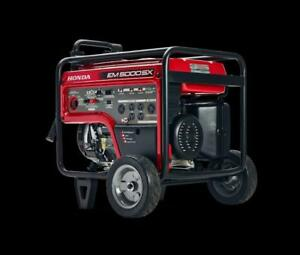 Honda EM 5000 SX Generators - GREAT PRICING - Commercial  Pricing $2609.00