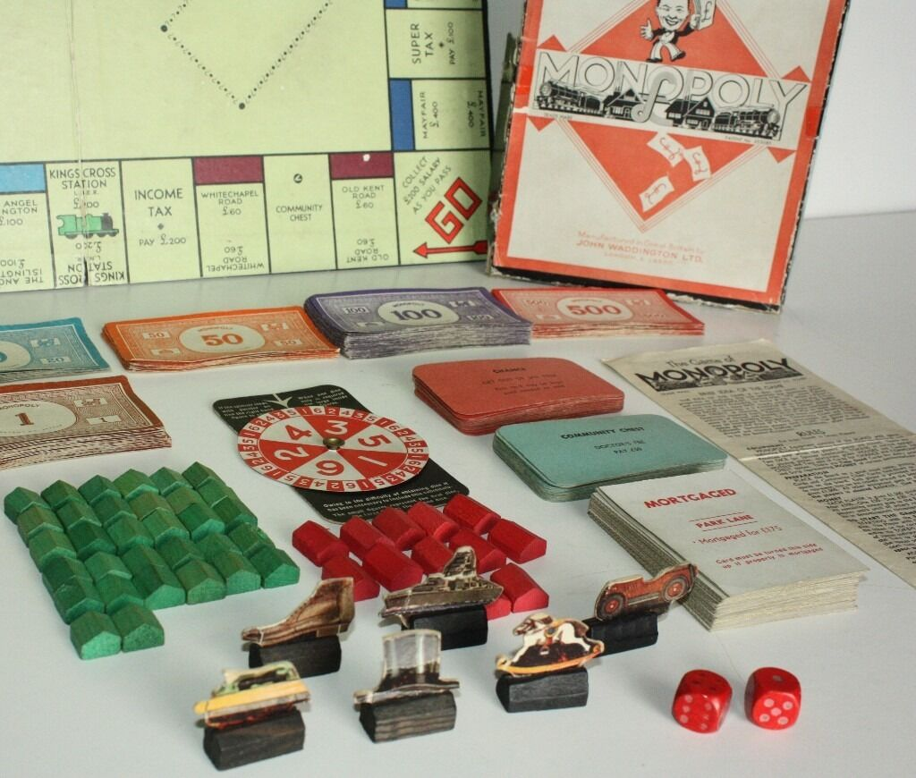 Monopoly 1940 Related Keywords & Suggestions - Monopoly 1940