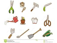 Cleaning, painting, gardening, home services.