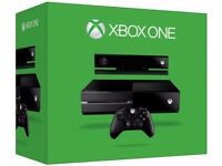 xbox one all accessories with kinect and chargers near new