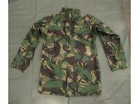 DPM Goretex Jacket / Liner - Army Issue Size 190/96 (super grade condition)