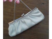 Monsoon ivory evening/wedding bag