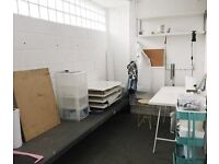 ARTIST STUDIO TO RENT - natural light / 24hr access to onsite print facilities and more...
