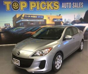 2013 Mazda MAZDA3 GX, AUTOMATIC, ALLOYS, POWER GROUP, A/C!