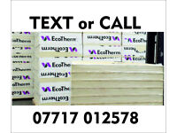 100mm ECOTHERM Foil sided Insulation board. NEW 1200x 2400mm similar to Celotex Kingspan Xtratherm