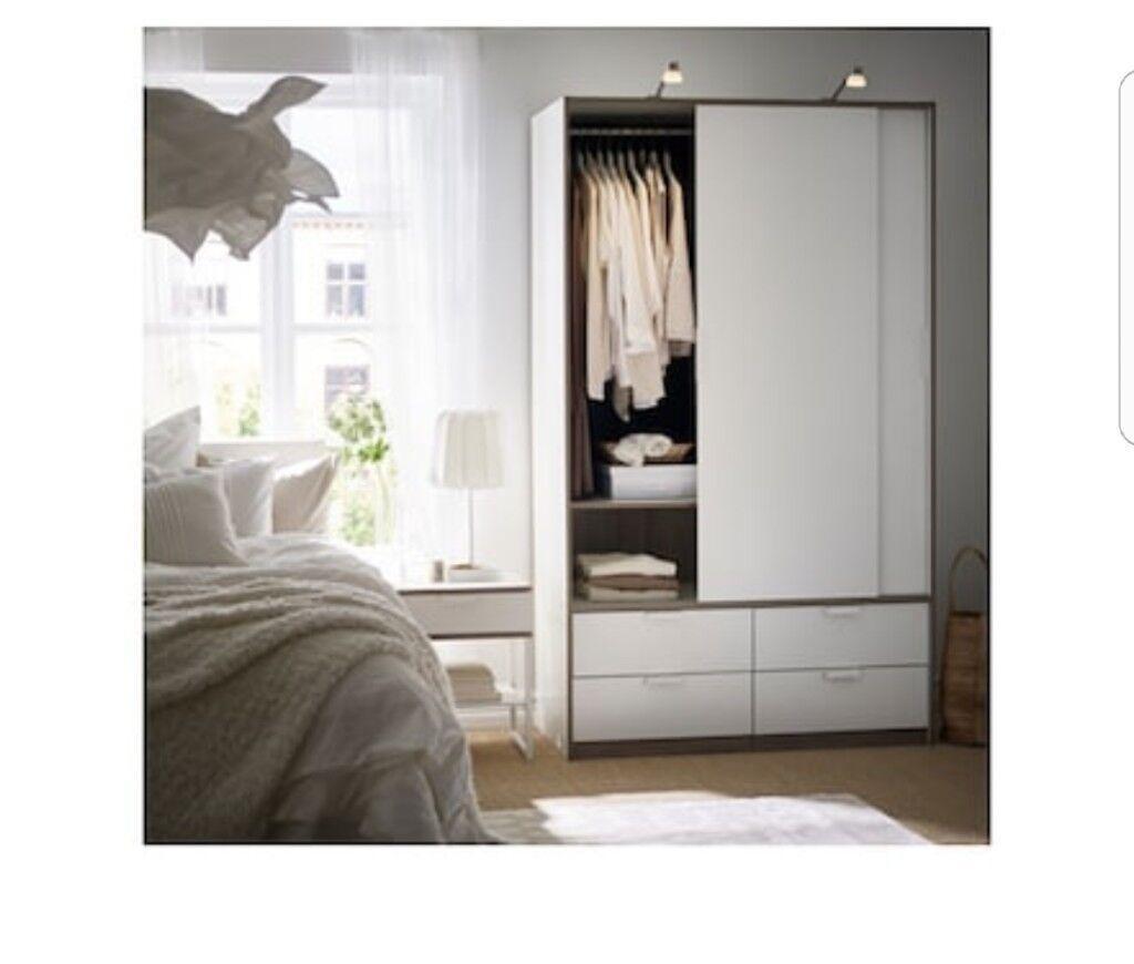 Wardrobe Ikea Trysil Wardrobe Sliding Door Wardrobe In