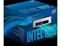 Intel NUC i5 1.8 Ghz 8gb RAM 120 GB SSD mini Desktop PC desktop computer