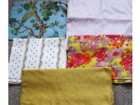 Unused Fabric and Lace curtaining. Offers.