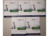 2018 CFA Level 1 Schweser Notes & Premium Materials. All books available!