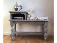 Table with seating Shabby Chic style