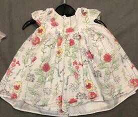 BABY GIRL 3-6 MONTHS LITTLE ROCHA DRESS