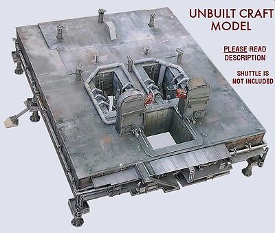 Space Shuttle Mobile Launch Platform MLP 1:72 for Monogram w/Boosters/Tanks READ