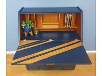 Nathan Furniture Bureau - Mid Century Bureau - MCM desk - G - Plan / McIntosh era