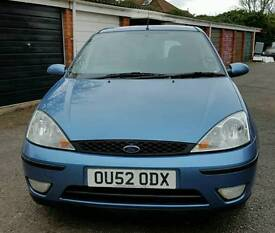 Ford focus 1.6 16v 5 door hatchback long mot lovely condition and drive