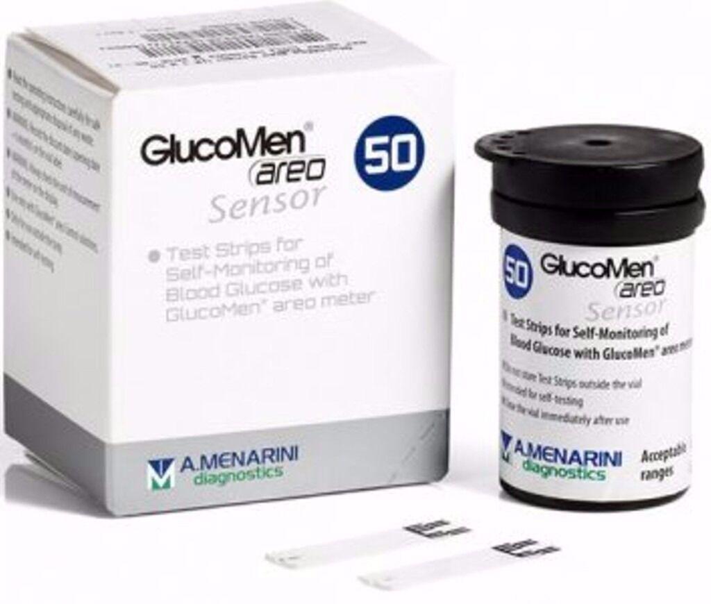 Glucomen Areo Sensors Pack of 50