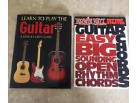 Learn to Play the Guitar and Getting Started Easy Learning Books for beginners.