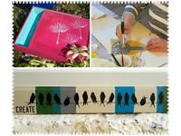 Make Your Own Upcycled Wall Art with Stencilling – Sat March 10, 2pm - 4pm