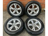 17'' GENUINE AUDI Q3 ALLOY WHEELS TYRES ALLOYS 8U0601025AM 5X112