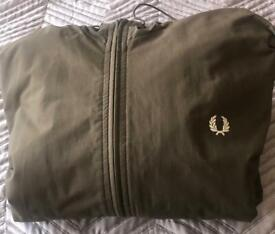 Green Fred Perry Jacket