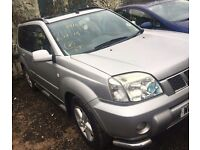 NISSAN X-TRAIL 2002-2007 DRIVER SIDE FRONT WING BREAKING