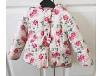 Girls jacket 12-18 mths