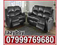 sofa black real leather recliner sofa set