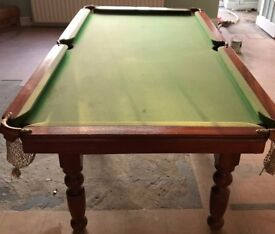 Pool table with slate bed – 6ft - £300