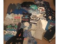 MASSIVE bundle of boys clothes 38 items, next Ralph Lauren, George 12-18m/2-3 years