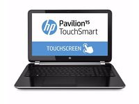 "HP Pavilion 15"" TouchSmart Notebook PC (Windows 10 Home 64 Bit - clean install)"