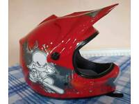 Kids quad bike helmet